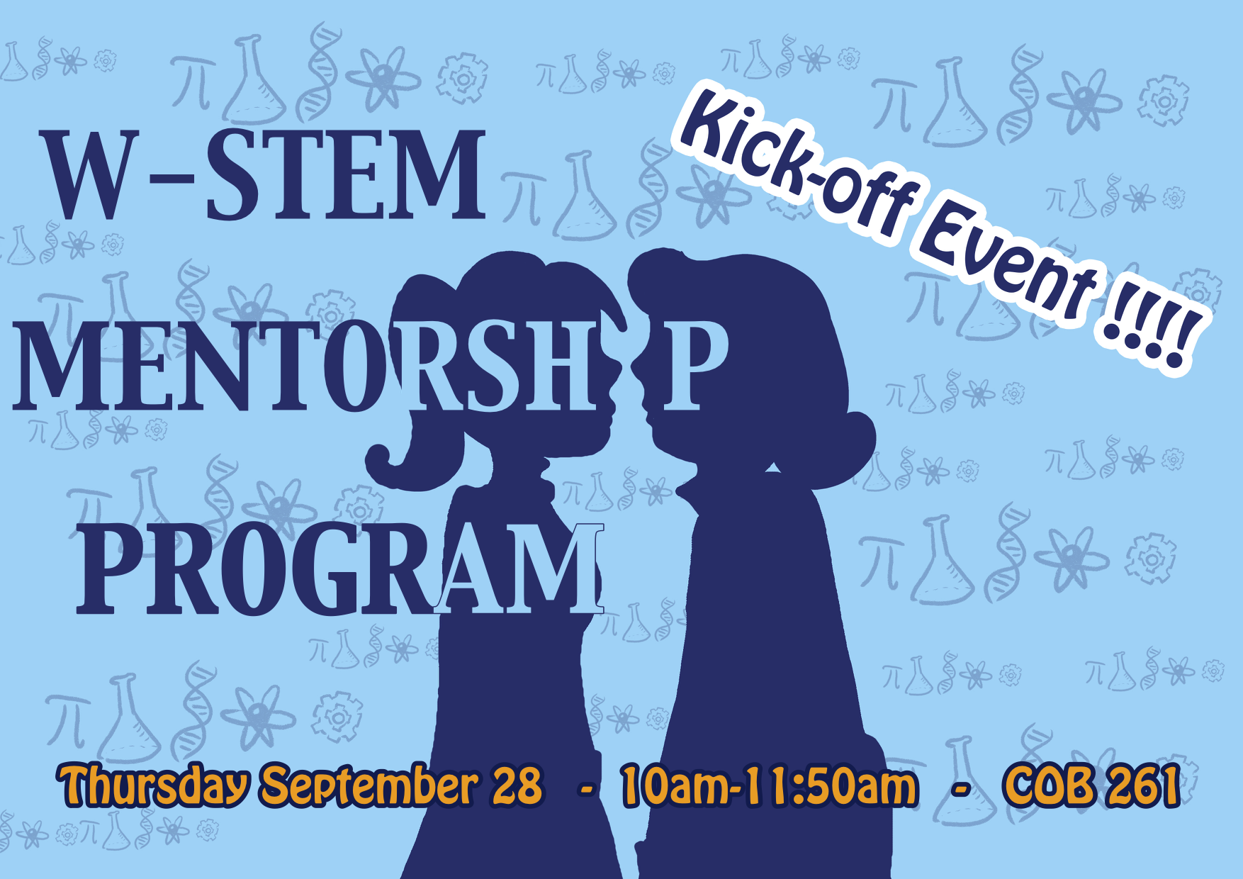 UC Merced W-STEM Mentorship program !