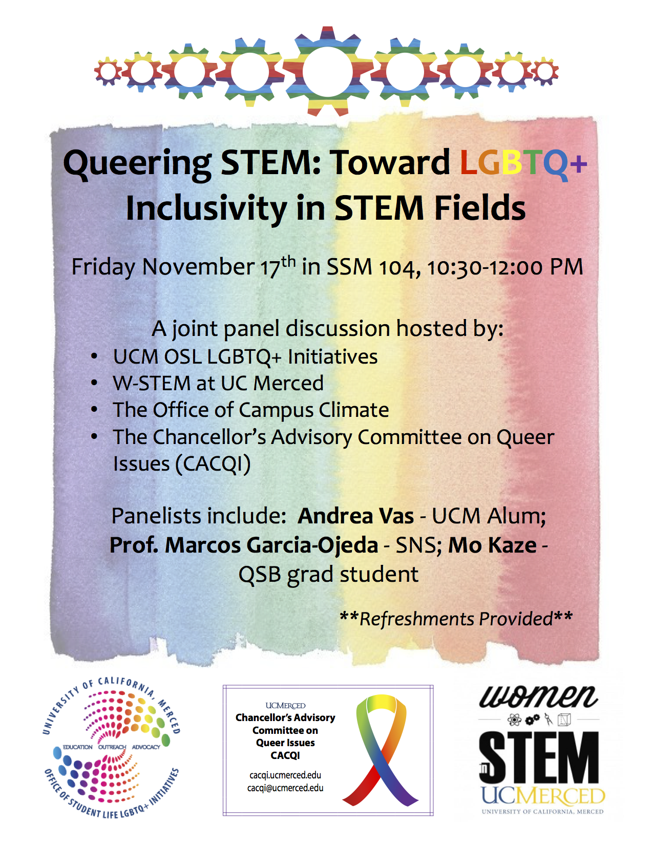 Queering STEM: towards LGBTQ+ inclusivity in STEM fields