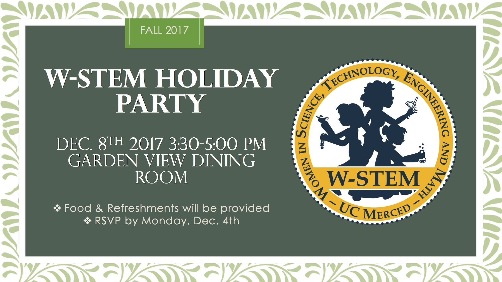 W-STEM Holiday Party