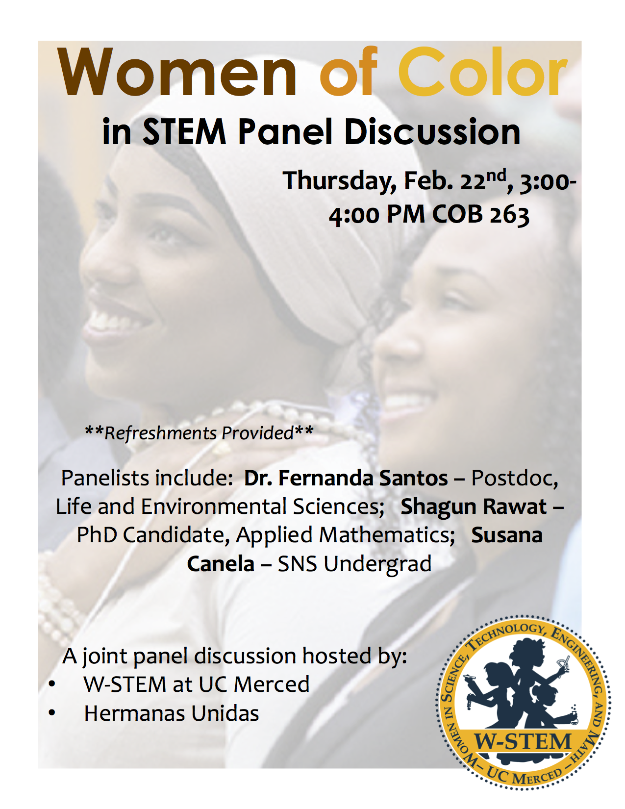 Women of Color Panel Discussion