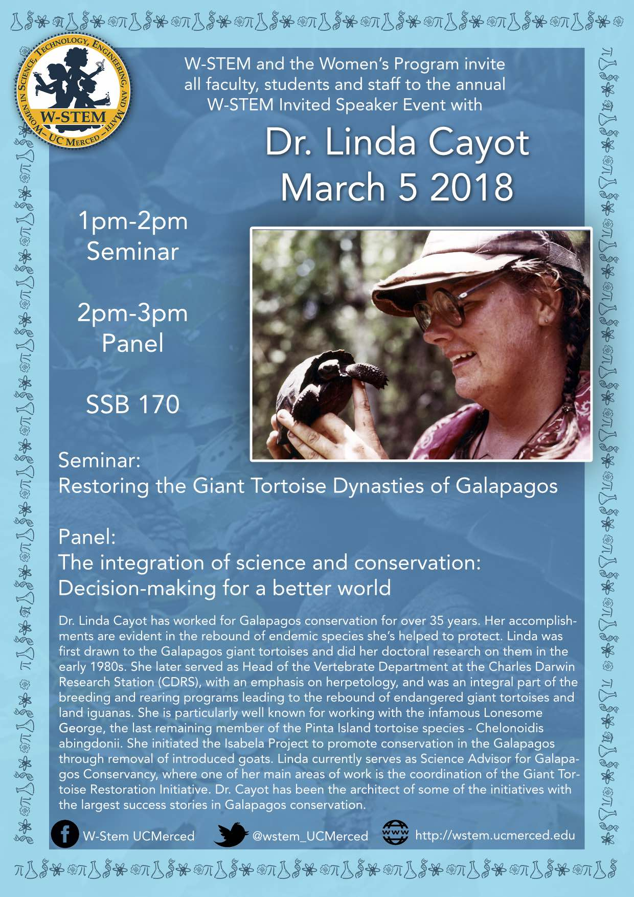 Annual Speaker Event: March 5th
