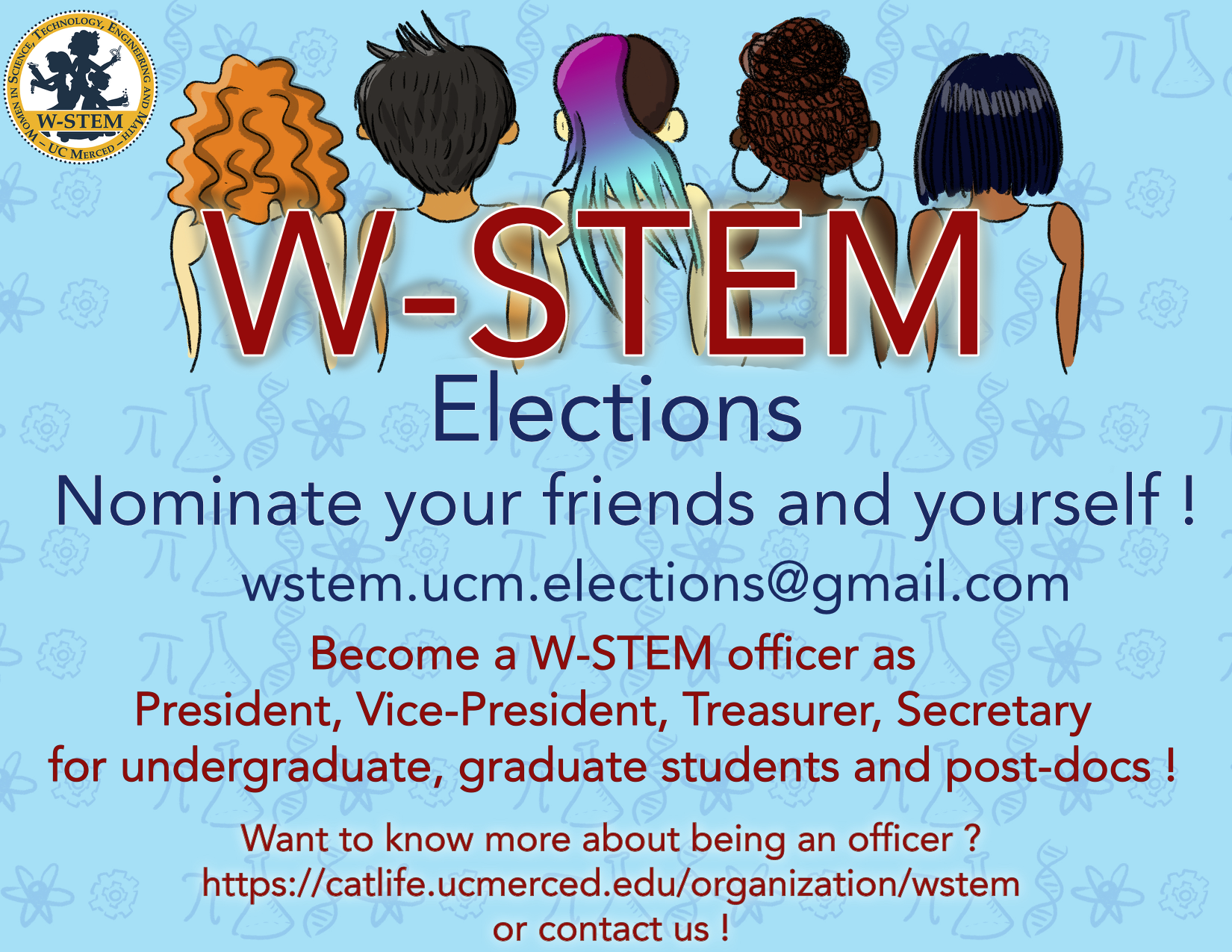 W-STEM elections 2018: how it works