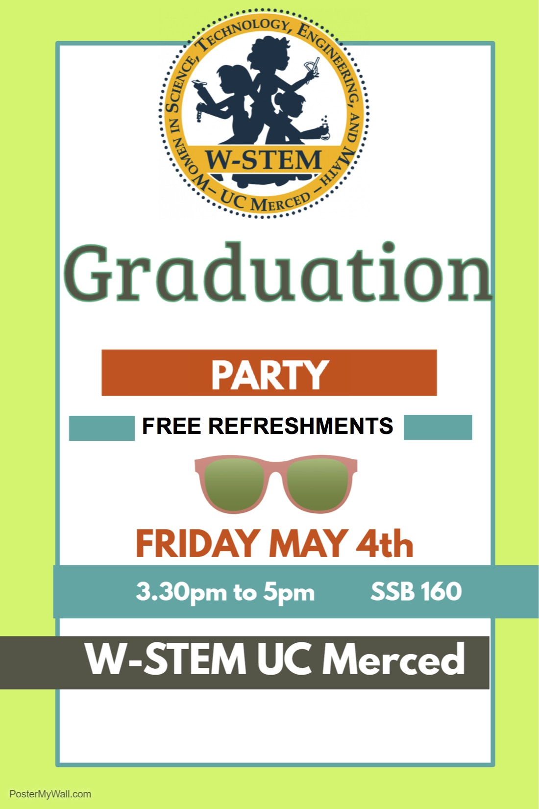 W-STEM graduation Party